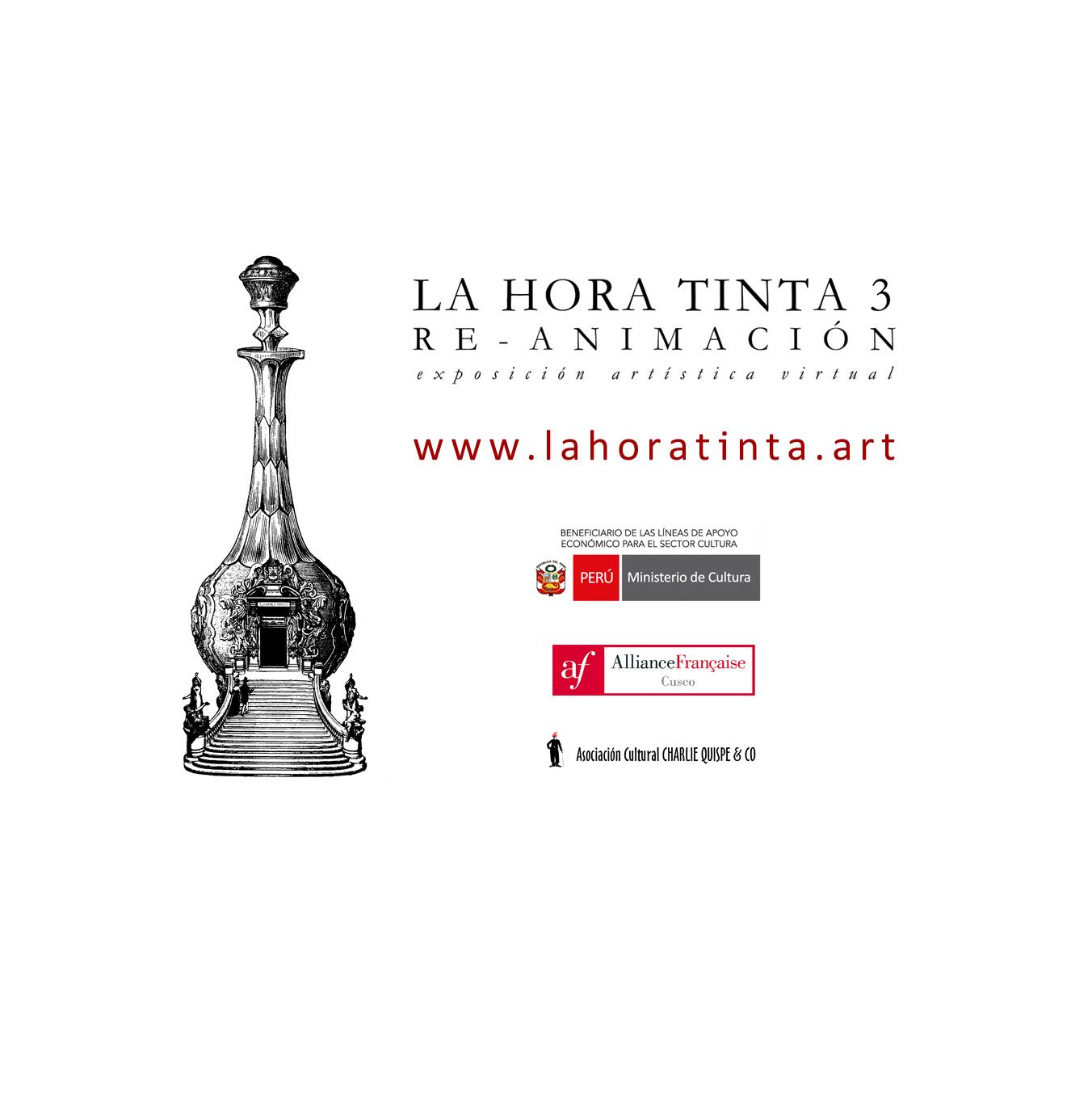 La Hora Tinta 3 – Re-Animación. Exposición virtual. Curaduría: Colectivo Artístico La Hora Tinta.