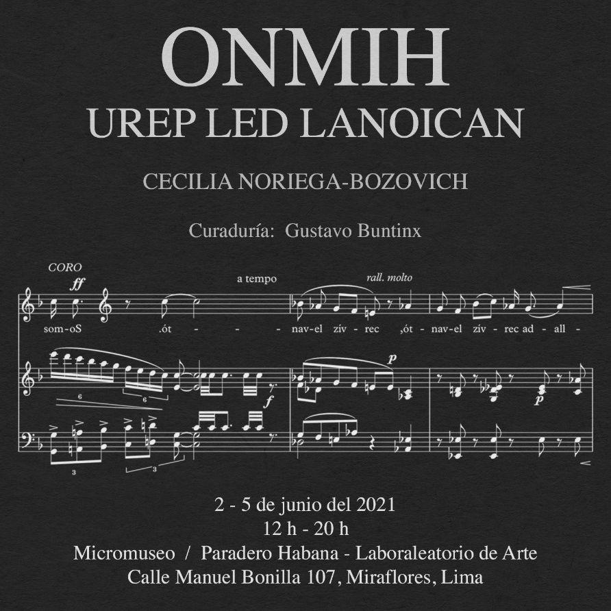 ONMIH – Individual de Cecilia Noriega-Bozovich. Curaduría: Gustavo Buntinx