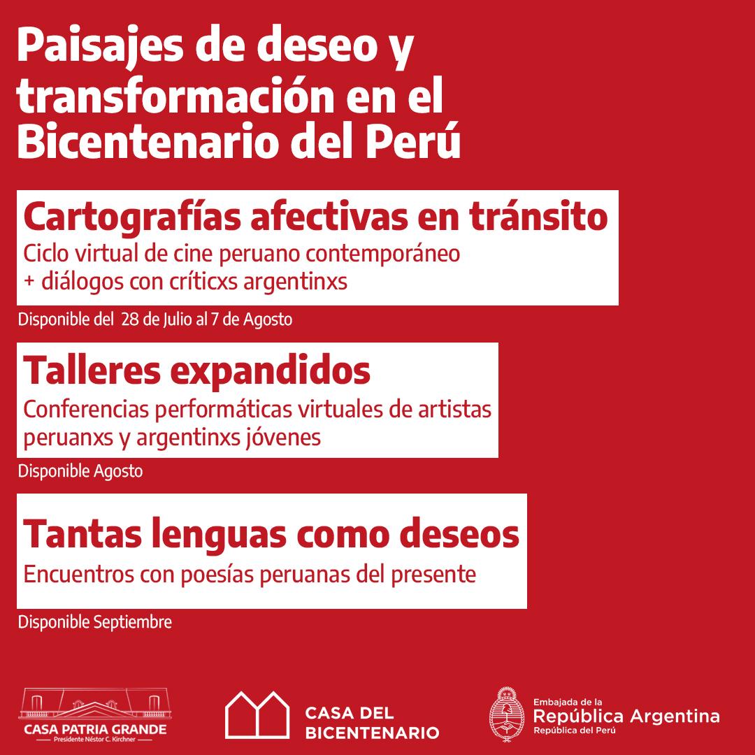 Paisajes de deseo y transformación en el Bicentenario del Perú.  Curaduría: Edward de Ybarra (PER) y Yaela Gottlieb (ARG)