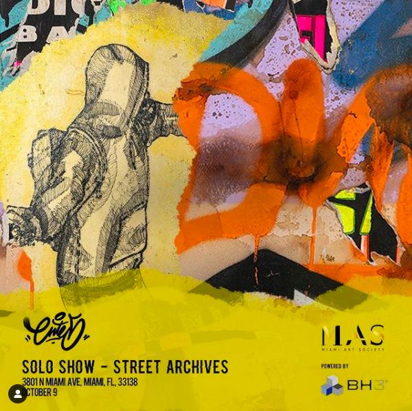"""Street Archives. Individual de Joan Jiménez """"Entes"""""""